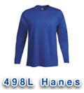 Hanes 498L T Shirts